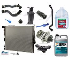 BMW E83 X3 04-06 Aluminum Radiator with Parts and Antifreeze G-48 - Cooling Kit