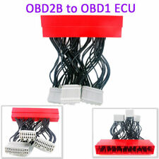 OBD2B to OBD1 ECU Conversion Harness Adapter Jumper For Honda Civic 1999 2000