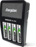 Energizer Rechargeable AA and AAA Battery Charger Recharge Value with 4 AA 1 Pc