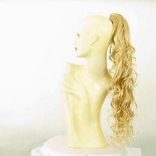 Hairpiece ponytail wavy golden blond wick very light blond 65 cm 10 24bt61 peruk