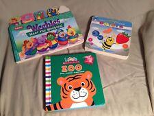 3 Children Board Books Beginner Books Hardcover