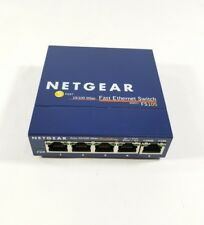 NETGEAR PROSAFE 5-PORT 10/100 Mbps FAST ETHERNET NETWORKING SWITCH FS105 v2