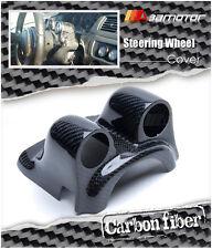 Steering Wheel Carbon Fibre Gauge Pod Dual for Mitsubishi Evolution EVO 7 8 & 9