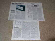 Nakamichi 700zxl Cassetta Review, 3 Quaderni, 1979, Info