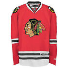 Youth Chicago Blackhawks Jersey Red Home Premier Stitched NHL Reebok Official