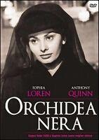 Dvd video **ORCHIDEA NERA** con Sophia Loren Anthony Quinn nuovo sigillato 1959