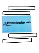 FoodSaver Replacement Gaskets (4 Foam Gaskets) - Fits FM2000, FM2010, FM2100,...