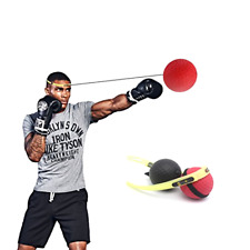 Boxing Punch Exercise Fight Ball With Head Band For Reflex Speed Training Sports