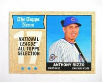 2017 Topps Heritage #372 Anthony Rizzo TNAS - NM-MT