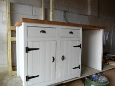 Rustic Solid Pine, Handmade Cupboard with space for dishwasher / fridge etc