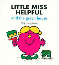 LITTLE MISS HELPFUL AND THE GREEN HOUSE * NEW PAPERBACK * ROGER HARGREAVES