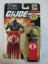 GI Joe 25th (2008) SDCC Comic Con Exclusive Cobra Leader Sealed MOC Hasbro BZ213