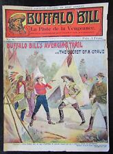 RECIT BUFFALO BILL N° 8  LA PISTE DE LA VENGEANCE COLONEL W. F. CODY