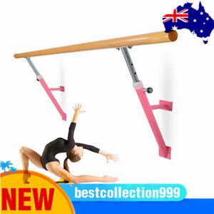 Portable Ballet Barre Stretch Ballet Dance Bar Stretch Barre Bar Wall Mount Wood