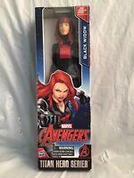 "Marvel Avengers Black Widow 12"" Figure Titan Hero Series 2016"