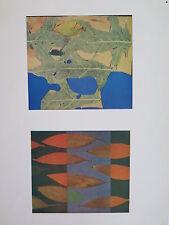 Josef Albers Original Silkscreen Folder XXV-5/Right Interaction of Color 1963