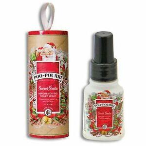 New Poo-Pourri Before You Go Toilet Spray 1.4 oz Secret Santa Scent