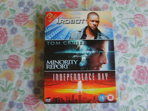 I,Robot/Minority Report/Independence Day (3 Dvd Box Set)