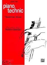 Piano Technic Level Two David Carr Glover