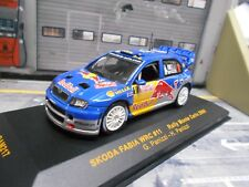 SKODA Fabia WRC WM Rallye Monte Carlo 2006 #11 Panizzi R Bull IXO 1:43