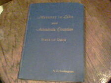 1935 Masonry in Lake and Ashtabula Counties State of Ohio by Will C. Trapp  e31