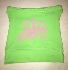 Adidas Respect Me Missy Neon Green Top Size 12