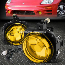 For 02 05 Mitsubishi Eclipse 04 08 Galant Amber Lens Fog Light Lamps Withswitch Fits 2002 Mitsubishi Eclipse