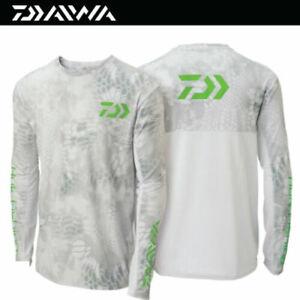 DAIWA Huk Breathable UV Protection Performance Long Sleeve Fishing T Shirts