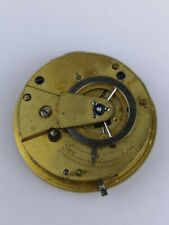 Possible Verge Fusee Pocket Watch Conversion Movement Good Balance (BM15)