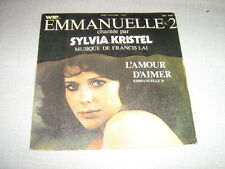 "BOF EMMANUELLE 2 7"" FRANCE FRANCIS LAI SYLVIA KRISTEL"