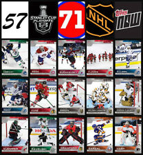 SCP57-SCP71 2020 NHL TOPPS NOW Hockey Sticker Pack Print Run 154 Only Made!