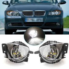 Pair LED For 2006-2008 BMW E90 325i 328i 330i 335i Front Bumper Fog Light Lamps