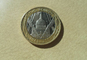 St Pauls £2 Coin - 2005