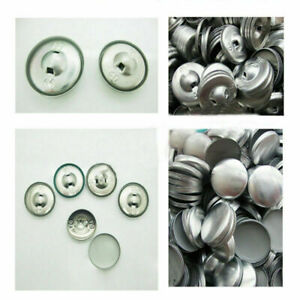 METAL BUTTON BLANKS FOR BUTTON MACHINE FOR FABRIC/UPHOLSTERY SELF EASY COVER BED