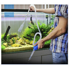 Aquarium Clean Vacuum Water Change Siphon Gravel Cleaner Fish Tank Pump Filter