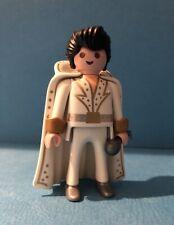Playmobil Elvis figura serie 2 5157 Blanco Cabo De Micrófono