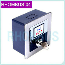 Stainless Steel Panel 5-Range Lcd Key Selector Switch For Access Auto-Door