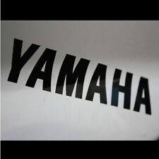 2 Pics YAMAHA Lettering Logo Motorcycle Vinyl Decal Sticker