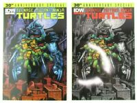 Teenage Mutant Ninja Turtles 30th Annivesary Special Cover A & B IDW Comic Book