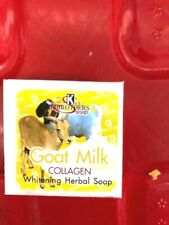 K.BROTHERS Goat Milk With Collagen Whitening Herbal Soap 60 g.