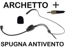 RADIOMICROFONO MICROFONO ARCHETTO WIRELESS PER PROEL SENNHEISER AKG SHURE SPORT