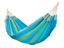 La Siesta Hammock-  King Size XXL (Curaçao / Light Blue) Handmade Organic Cotton