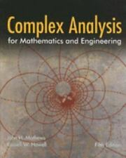 Complex Analysis for Mathematics and Engineering, Howell, Russell W., Mathews, J