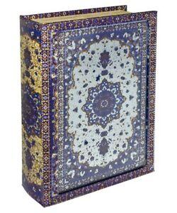 Mirrored Venetian Storage Book Box! Looks like book!