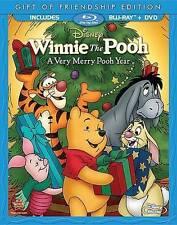 Winnie The Pooh Very Merry Pooh Year (Ws)  Blu-Ray NEW