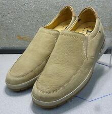 LEO CAMEL MMMS75 Men's Shoes Size 8.5 Eur 8 Nubuck Suede Slip on  Mephisto