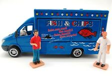 SIKU 1:50 METALLO DIE CAST FURGONE NEGOZIO MOBILE SHOP FISH & CHIPS ART 1933