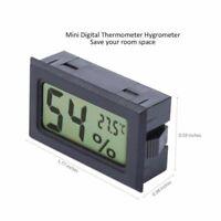 LCD Display Digitale Termometro Temperatura Ambiente Igrometro Metro Misuratore