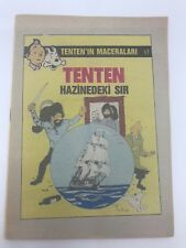 THE ADVENTURES OF TINTIN #17 - 80s - Foreign Comic Book - VERY RARE - 6.0 FN