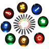 12V LED 8/10/12/14/16mm Anzeigelampe Signallampe Lampe Kontrollleuchte
